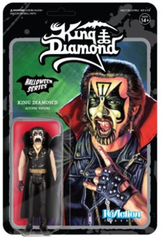 King Diamond - Action Figure - Halloween Series - Collector's - Licensed New In Pack
