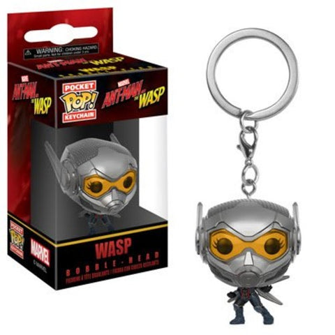 Ant-Man & The Wasp - Wasp - Box - Vinyl Figure Keychain