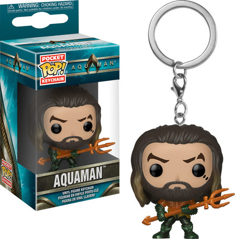 Aquaman - Arthur Curry As Gladiator - Box - Vinyl Figure Keychain