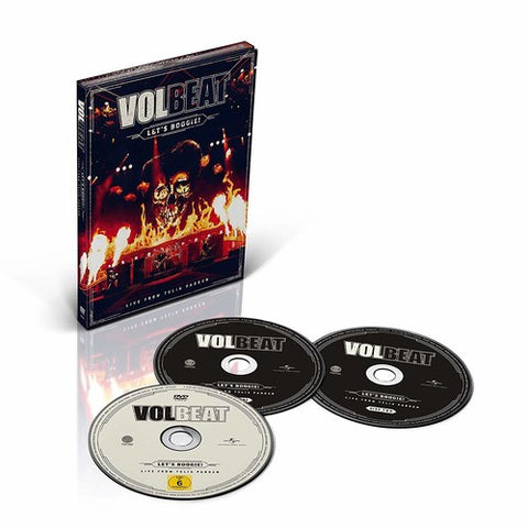Volbeat - Let's Boogie! (Live From Telia Parken) - 2018 - CD/DVD