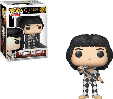 Queen - Vinyl Figure - Freddie Mercury - BW Mic - Licensed New In Box