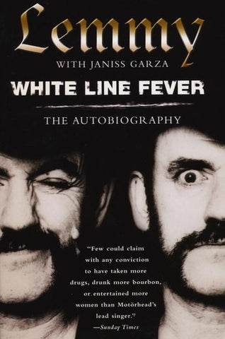 Motorhead - Lemmy: White Line Fever: The Autobiography (Trade Paperback) - Book