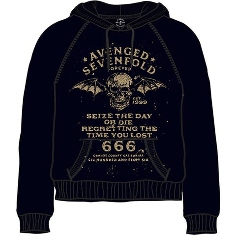 Avenged Sevenfold - Seize the Day Pullover Hoodie (UK Import)