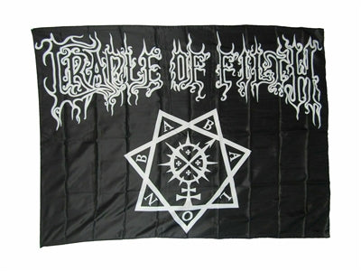 Cradle Of Filth - Fabric Poster Wall Flag