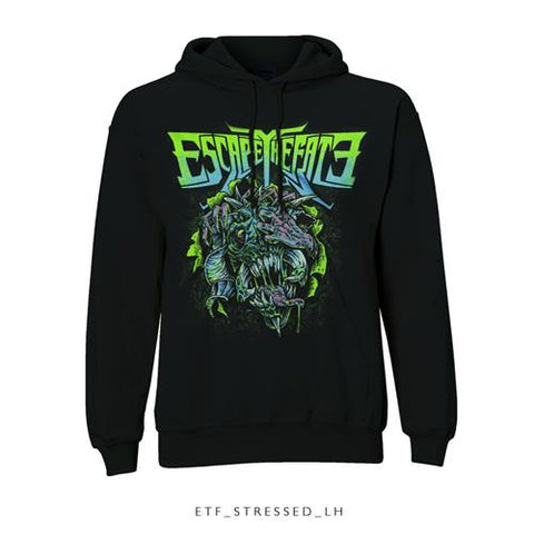 Escape The Fate - Stressed Pullover Hoodie (UK Import)