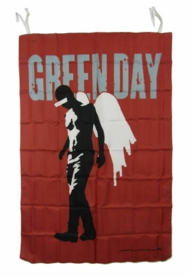 Green Day - Fabric Poster Wall Flag