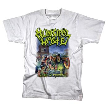 Municipal Waste - The Art Of Partying On White - T-Shirt