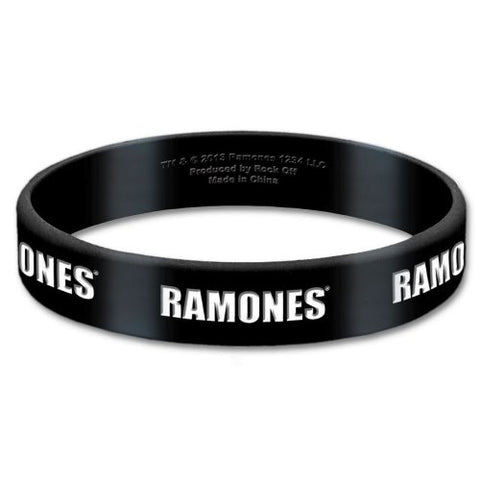 Ramones - Rubber Bracelet Wristband (UK Import)