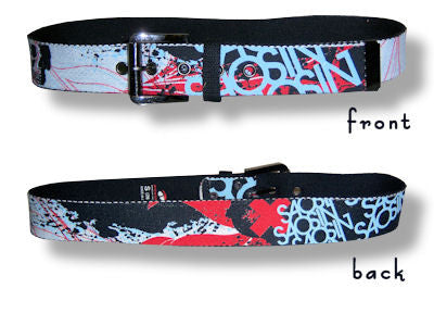 Saosin - All Over Print Canvas Belt