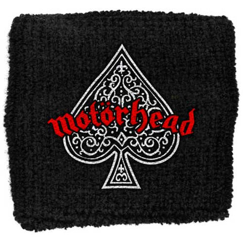 Motorhead - Ace Of Spades Cloth Logo Sweatband (UK Import)