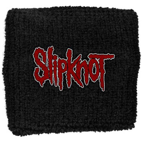 Slipknot - Red Black Cloth Logo Sweatband (UK Import)