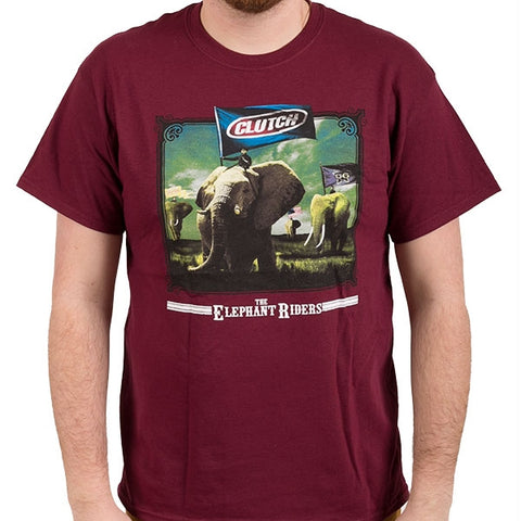 Clutch - The Elephant Riders T-Shirt