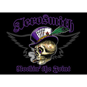 Aerosmith - Top Hat Skull - Fridge - Magnet