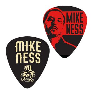 Mike Ness Of Social Distortion - 1 - 2 Pack Of Collector Guitar Picks