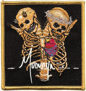 Mudvayne - Twin Skulls Embroidered Patch