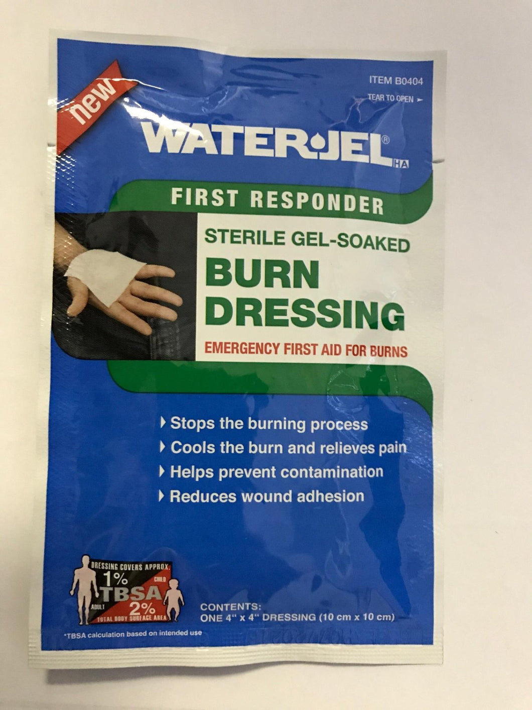 Burn Dressing Water-Jel 4 x 4