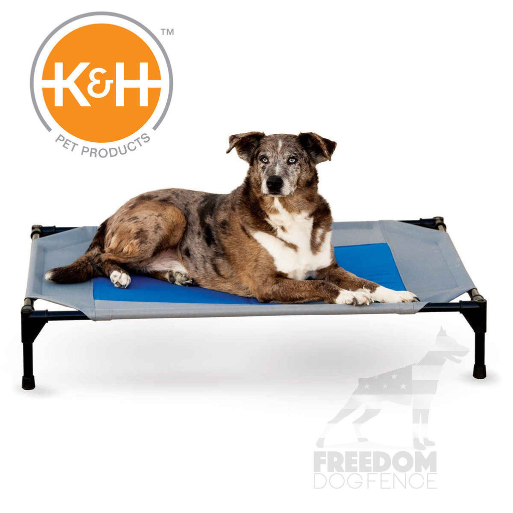 K&H Pet Products Coolin' Pet Cot with Cover Medium/Large