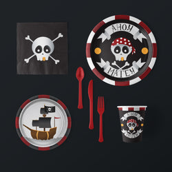Ahoy Matey Pirate Party Pack (Serves 8)