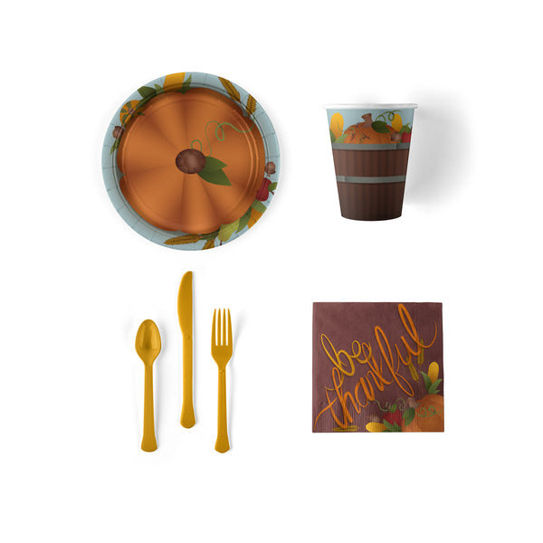 Give Thanks Thanksgiving Party Snack Pack (Serves 8) - Hold the Balloon