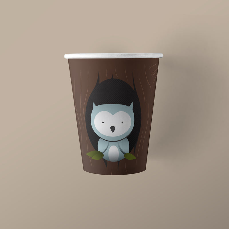 9 ounce Woodland Creature Party Paper Cups