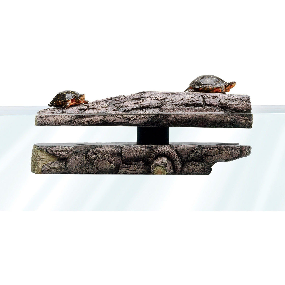 "Zilla Freestanding Floating Basking Platform - Log Landing 1 Pack - (18""L x 9""W x 5""H)"