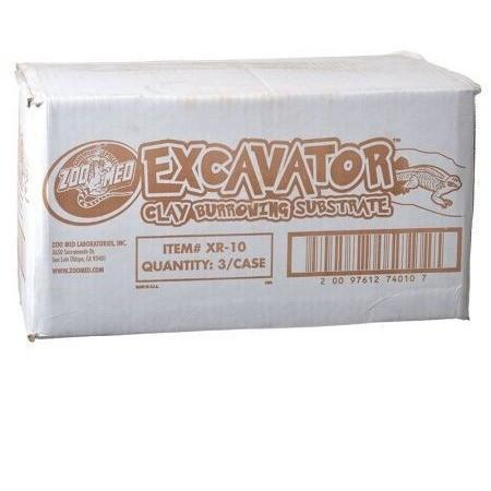 Zoo Med Excavator Clay Burrowing Reptile Substrate 20 lb Bag