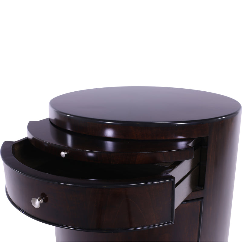 CYLINDER LAMP TABLE