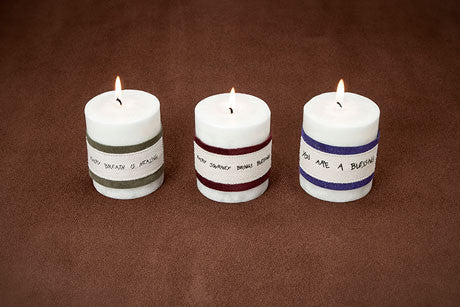 3.5 H x 3 inch diameter candle