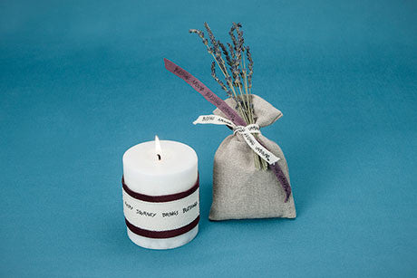 Lavendar sachet  (pictured with candle)