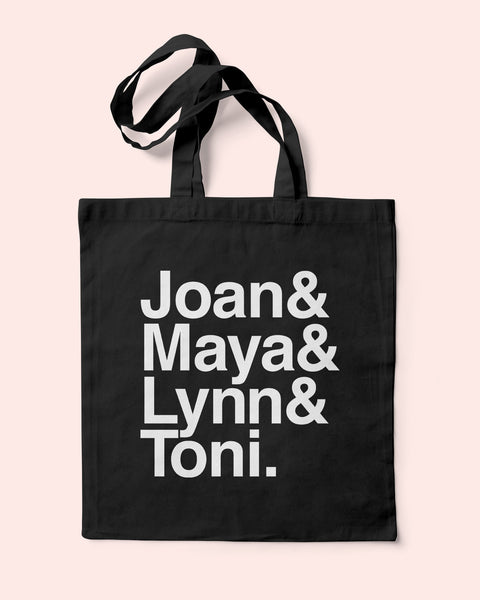 Girlfriends Tote Bag, Girlfriends TV Show, Joan, Maya, Lynn, Toni, Tracy Ellis-Ross, #blackgirlmagic