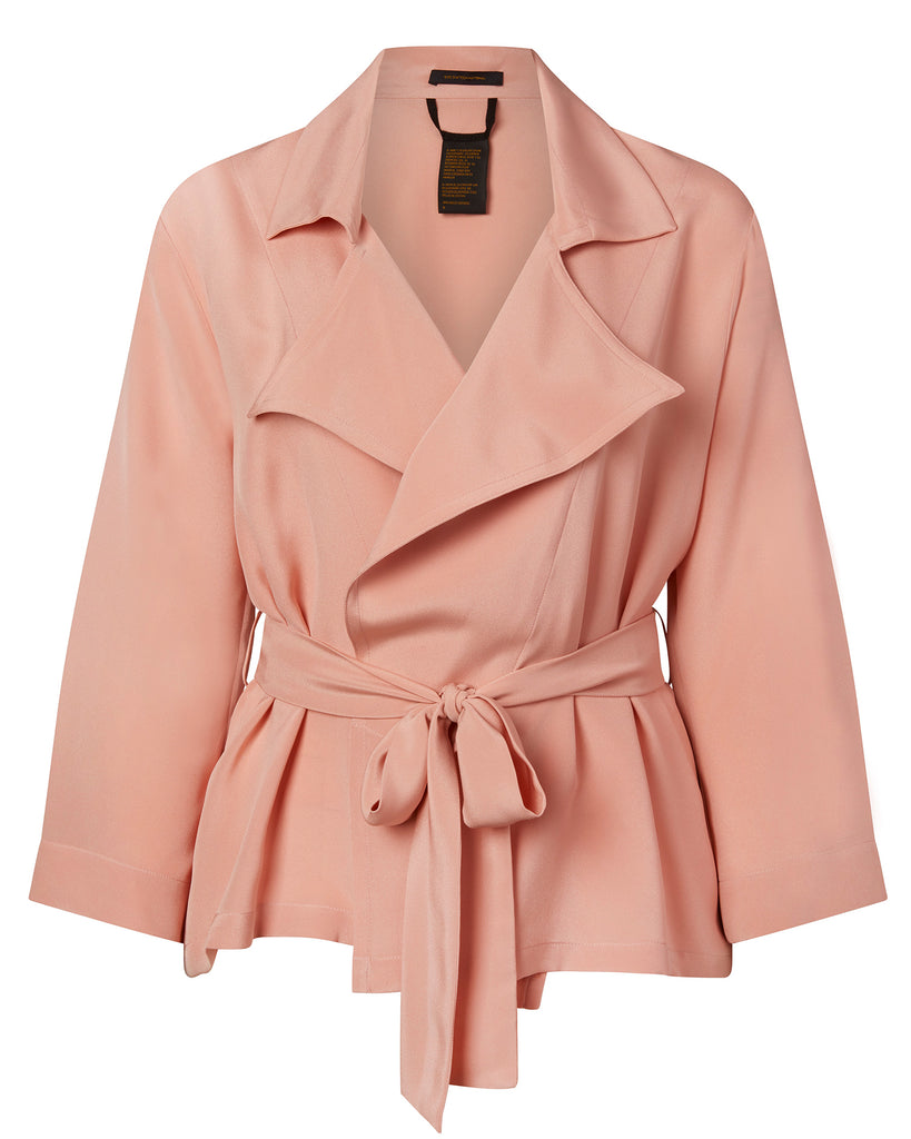 Crepe Short Trench