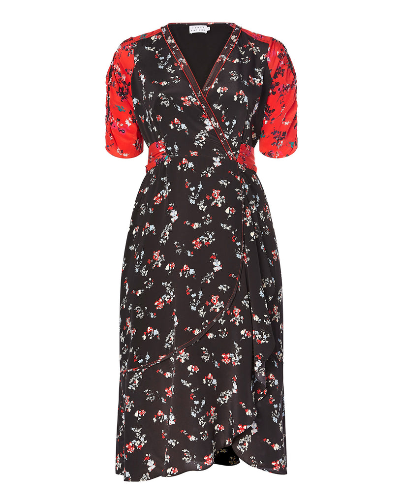 Floral Clusters Blaire Dress