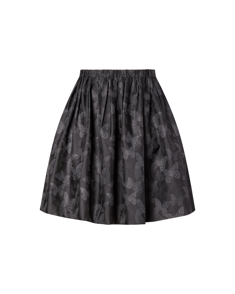 Butterfly Jacquard Skirt