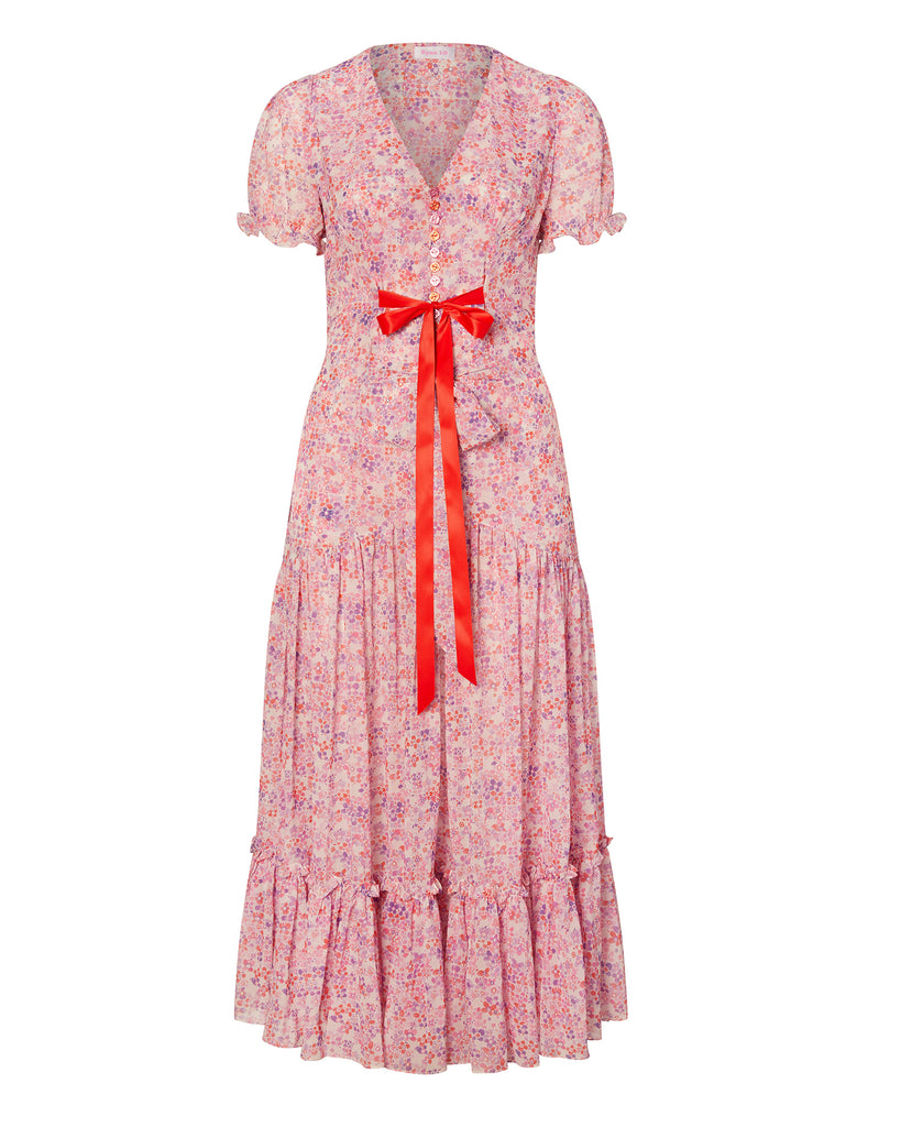 Puff Sleeve Victorian Tea Gown