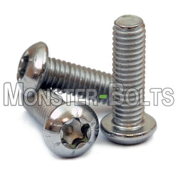 M4 - 0.7 Stainless Steel 6-Lobe Button Head Socket Cap Screws, ISO 7380 Torx A2