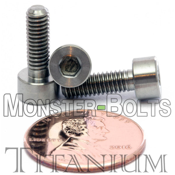 4mm / M4 x 0.7 - TITANIUM SOCKET HEAD Caps screws DIN 912 / ISO 4762