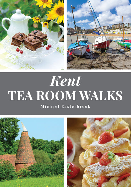 Kent Tea Room Walks book cover