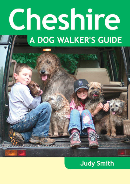 Cheshire A Dog Walker's Guide book cover. Local Dog Walks.