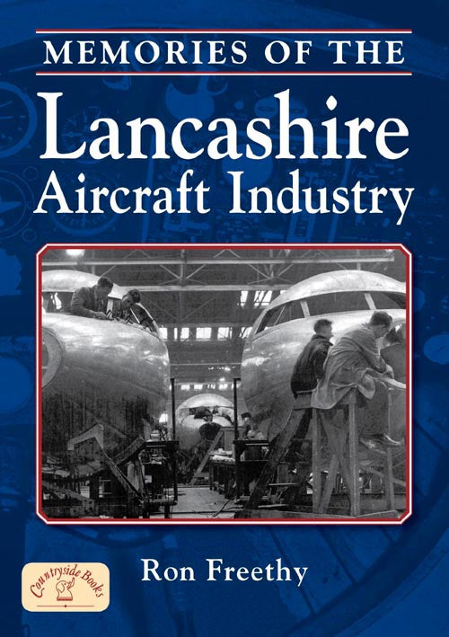 Memories of the Lancashire Aircraft Industry book cover. Aviation History.