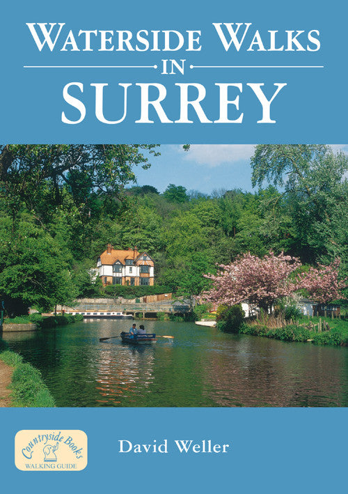 Waterside Walks in Surrey book cover.  20 river and canal walks.
