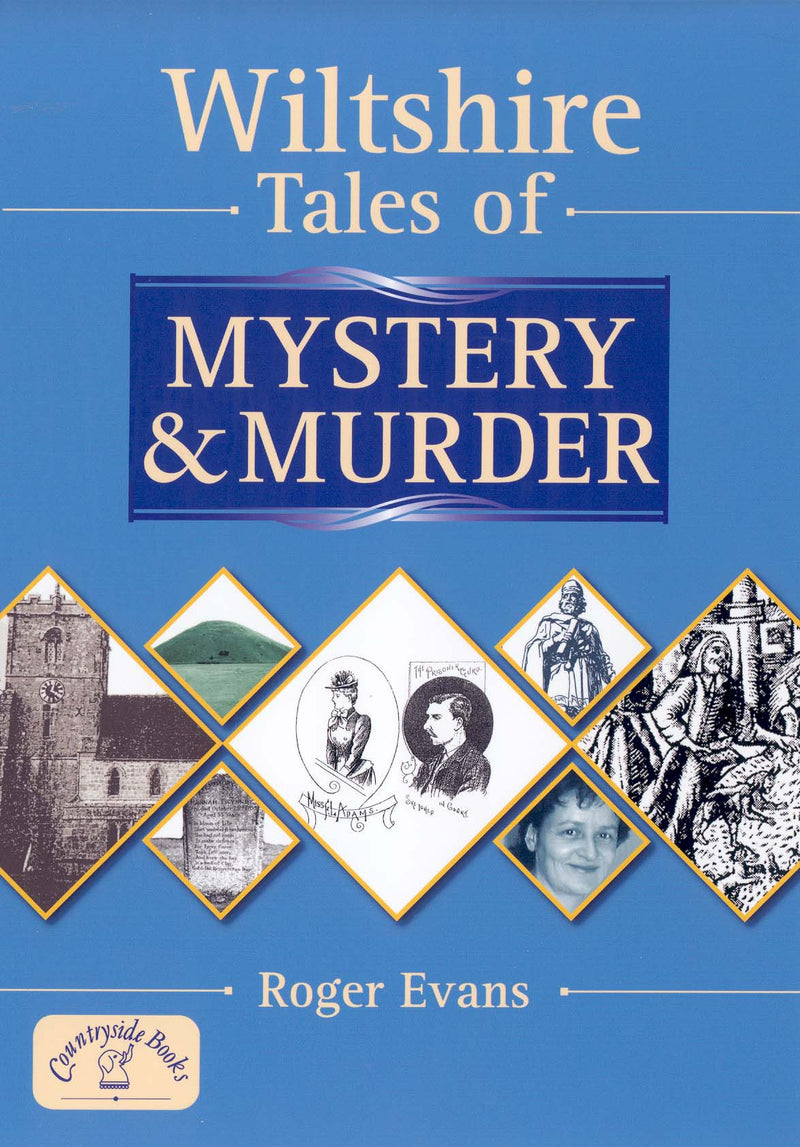 Wiltshire Tales of Mystery & Murder book cover.