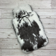 Luxury Rabbit Fur Hot Water Bottle - Large - #166