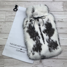 Large Rabbit Fur Luxury Hot Water Bottle #161