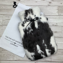 Rabbit Fur Hot Water Bottle - Large -#162