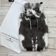 Luxury Rabbit Fur Hot Water Bottle - Large - #186