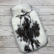 Luxury Rabbit Fur Hot Water Bottle - Large - #169
