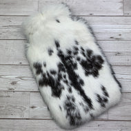 Luxury Rabbit Fur Hot Water Bottle - Large - #164