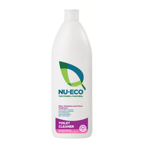 Nu-Eco Toilet Cleaner: 750ml & 5 Litres