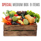 Wensleydale Fresh Organic Vegetable Box - SPECIAL: MEDIUM (9 items)