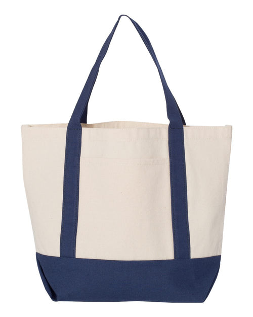 11 Ounce Small Cotton Canvas Boater Tote